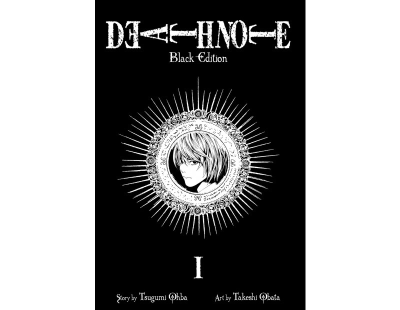 Manga Death Note Black Edition (Τόμος 1)