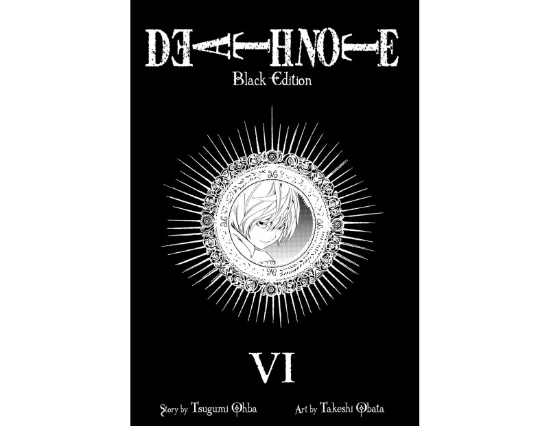 Manga Death Note Black Edition (Τόμος 6)