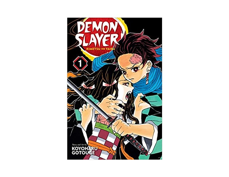 Manga Demon Slayer Τόμος 1 (English)