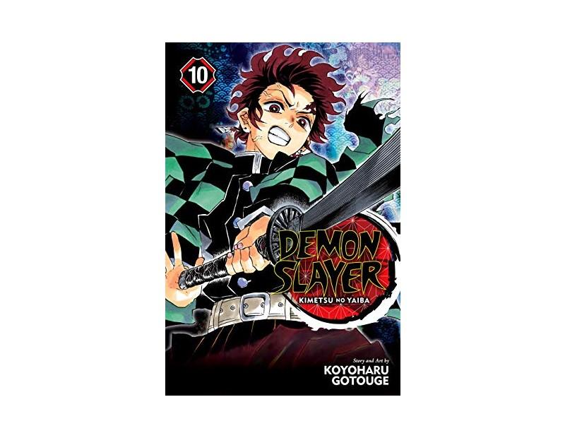 Manga Demon Slayer Τόμος 10 (English)