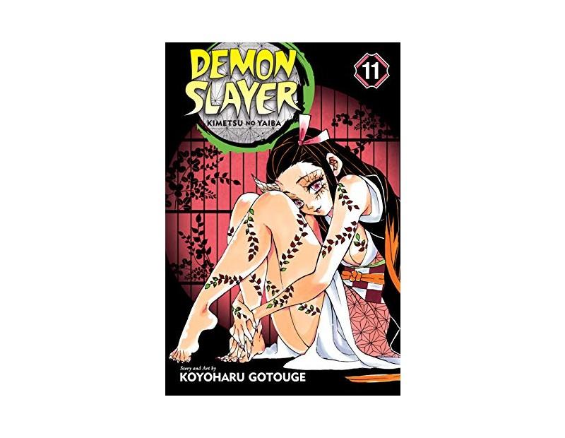 Manga Demon Slayer Τόμος 11 (English)