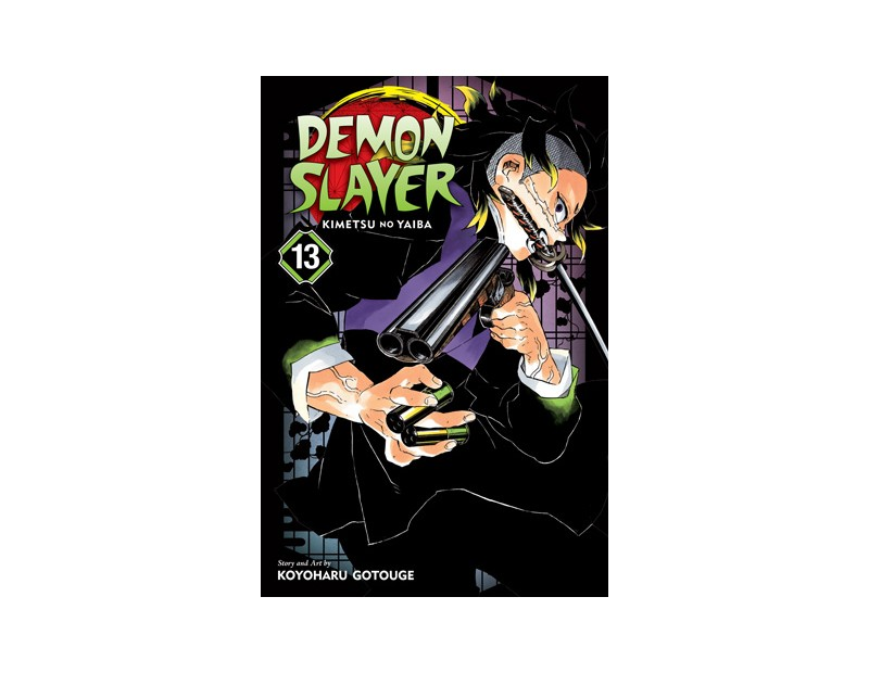 Manga Demon Slayer Τόμος 13 (English)