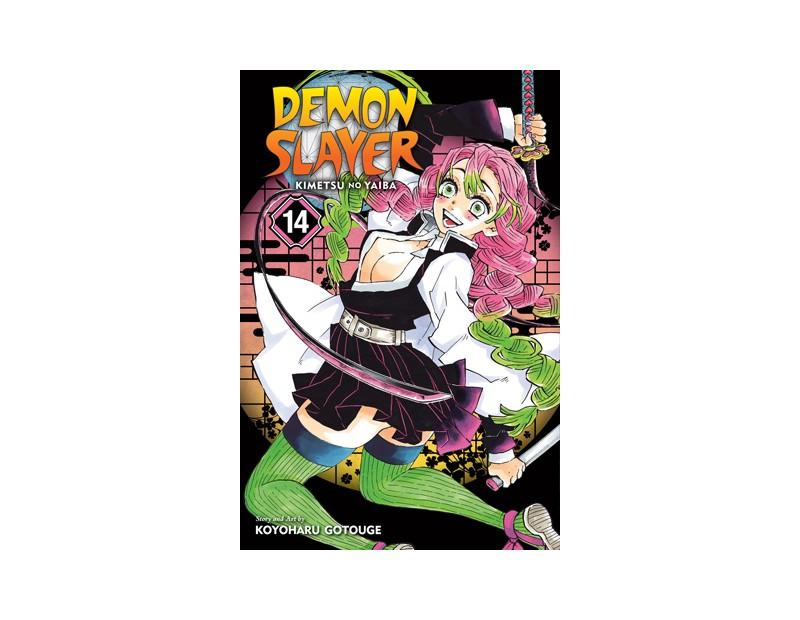 Manga Demon Slayer Τόμος 14 (English)