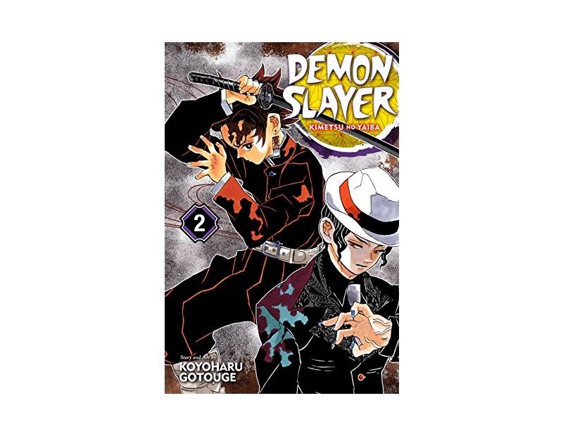 Manga Demon Slayer Τόμος 2 (English)