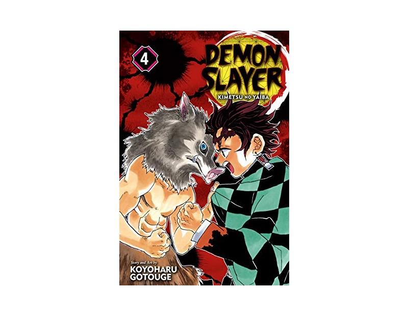 Manga Demon Slayer Τόμος 4 (English)