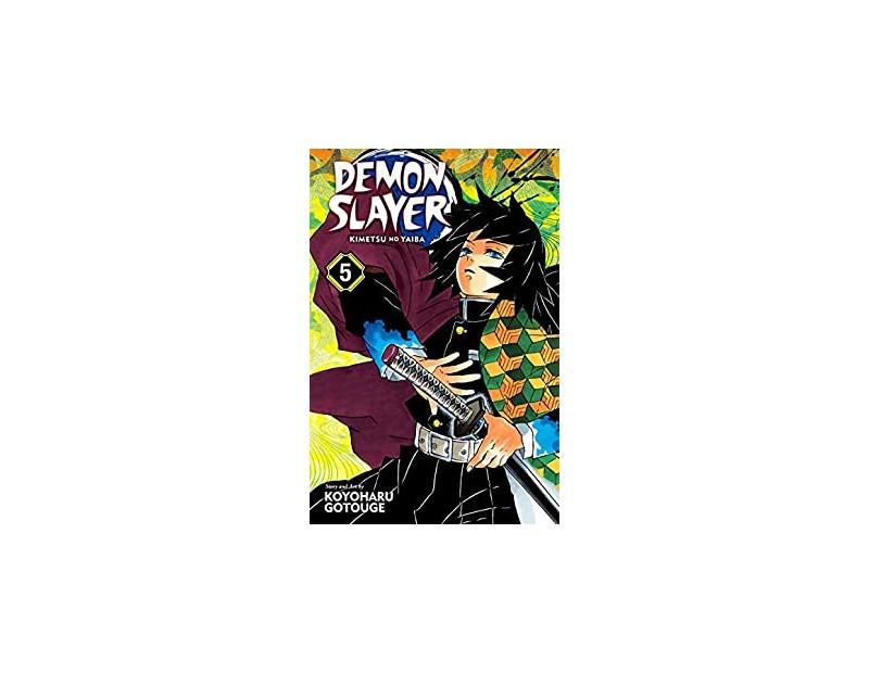 Manga Demon Slayer Τόμος 5 (English)