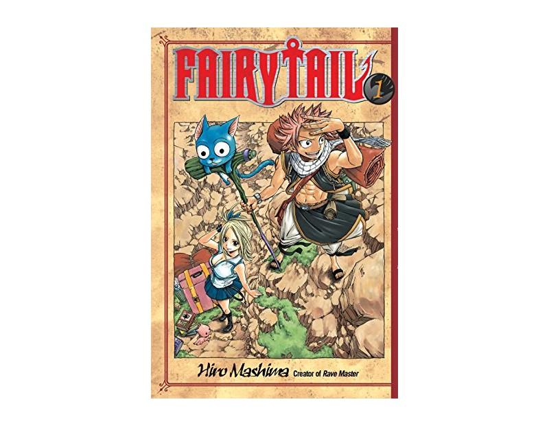 Manga Fairy Tail Τόμος 1 (English)