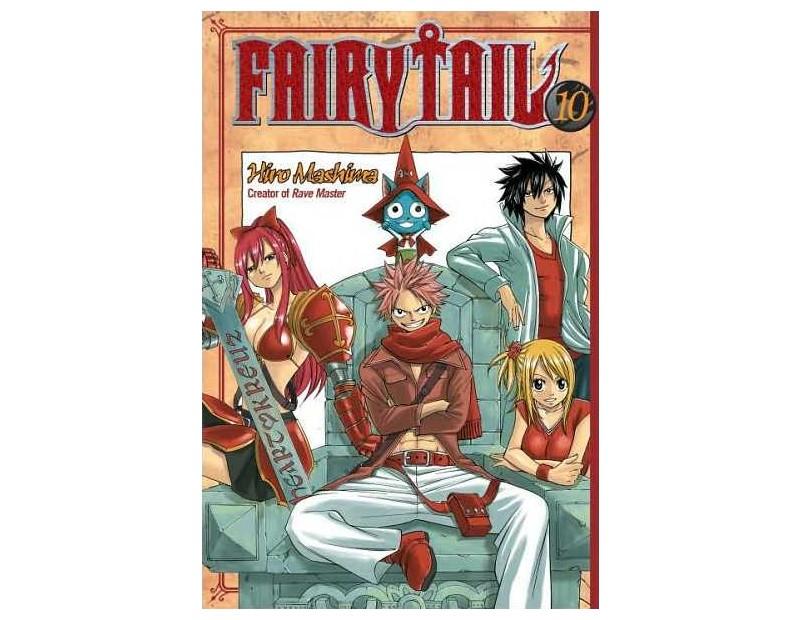 Manga Fairy Tail Τόμος 10 (English)