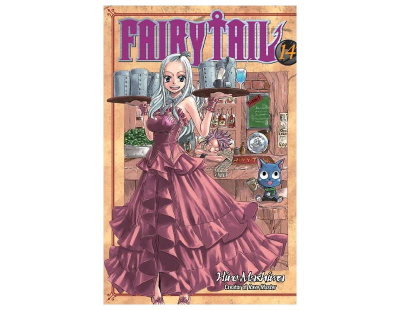 Manga Fairy Tail Τόμος 14 (English)