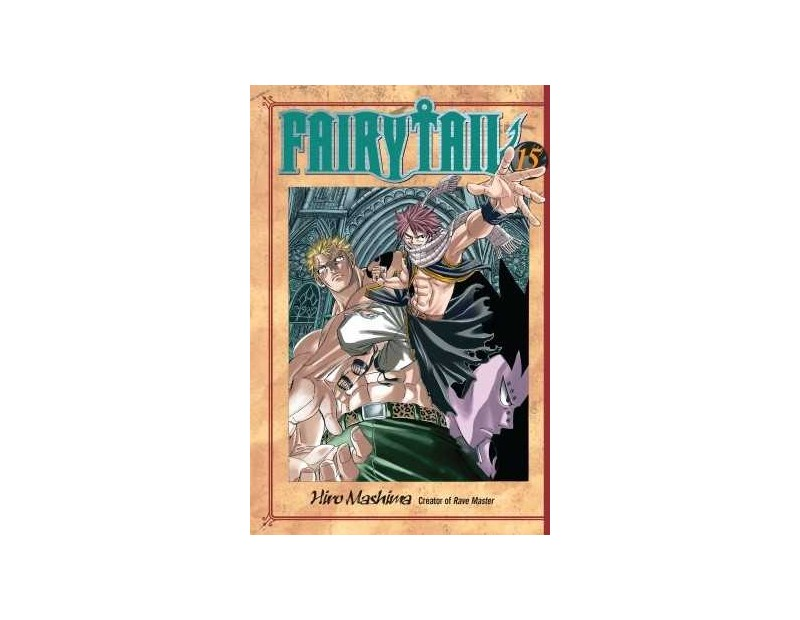 Manga Fairy Tail Τόμος 15 (English)