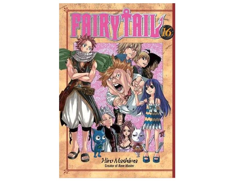 Manga Fairy Tail Τόμος 16 (English)