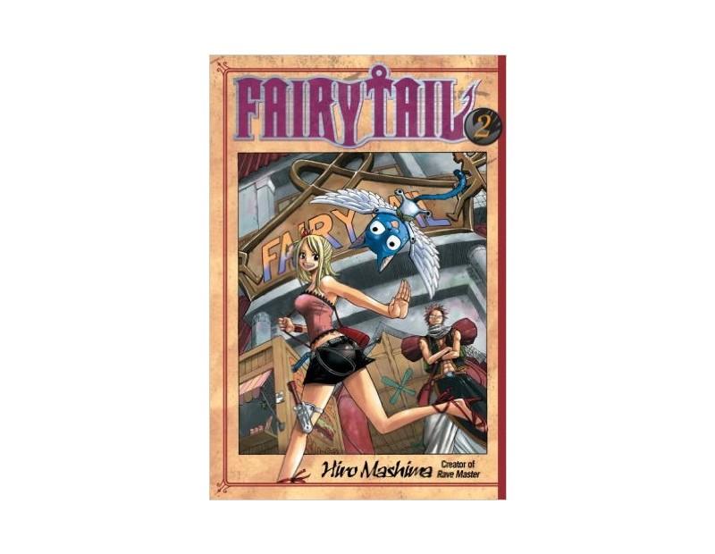 Manga Fairy Tail Τόμος 2 (English)