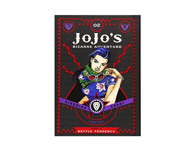 Manga JoJo's Bizarre Adventure Τόμος 2 (Part 2-English)