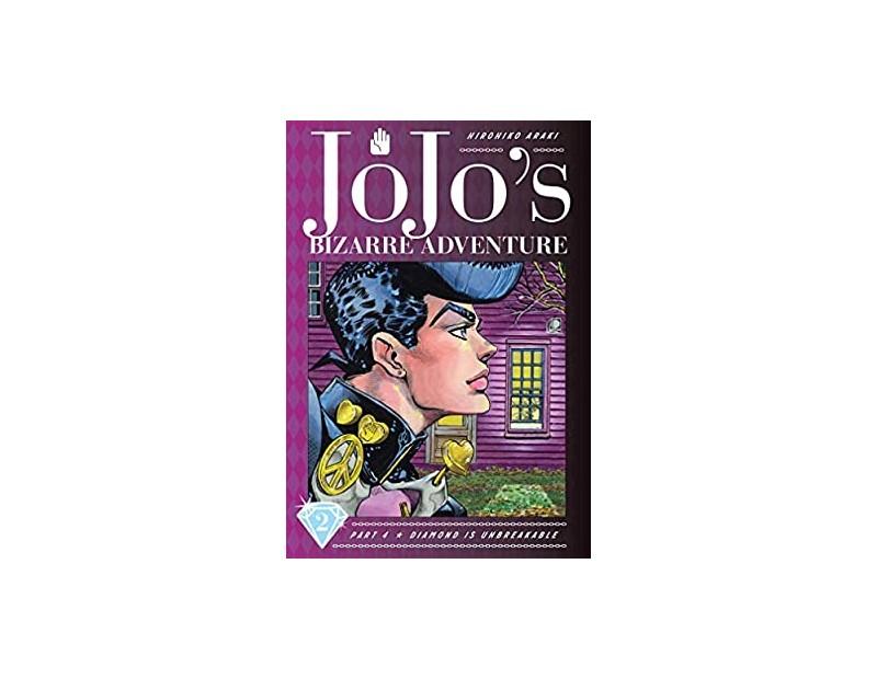 Manga JoJo's Bizarre Adventure Τόμος 2 (Part 4-English)
