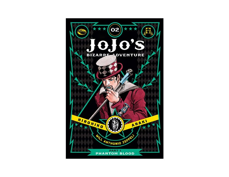 Manga JoJo's Bizarre Adventure Τόμος 2 (Part 1-English)