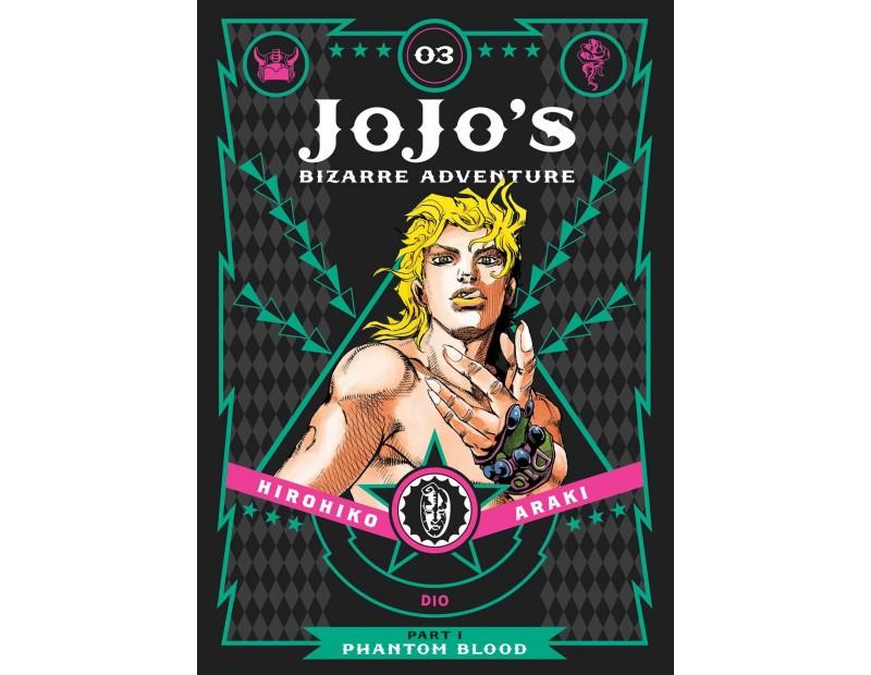 Manga JoJo's Bizarre Adventure Τόμος 3 (Part 1-English)