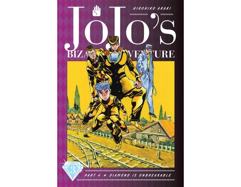 Manga JoJo's Bizarre Adventure Τόμος 3 (Part 4-English)