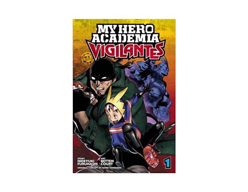 Manga My Hero Academia Vigilantes Τόμος 1 (English)