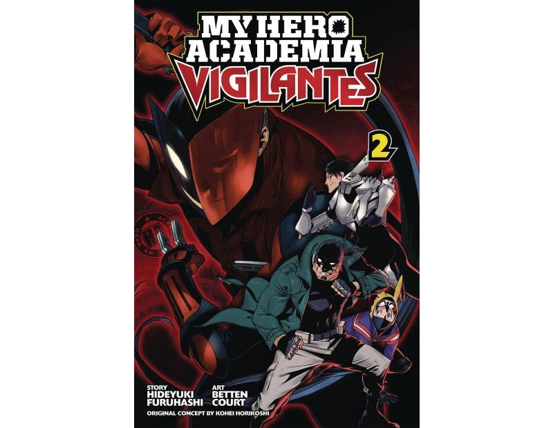 Manga My Hero Academia Vigilantes Τόμος 2 (English)