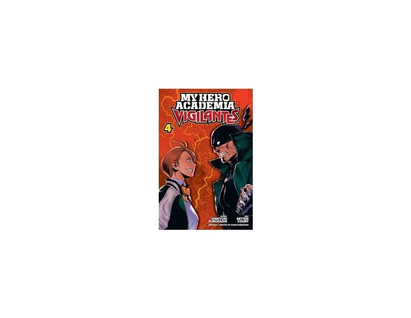 Manga My Hero Academia Vigilantes Τόμος 4 (English)