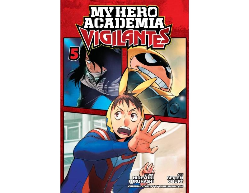 Manga My Hero Academia Vigilantes Τόμος 5 (English)