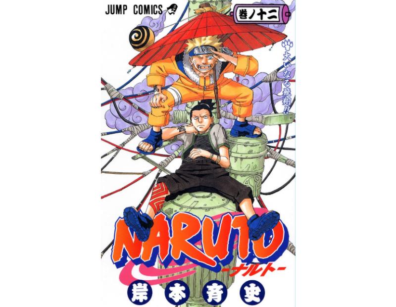 Manga Naruto Τόμος 12 (English)