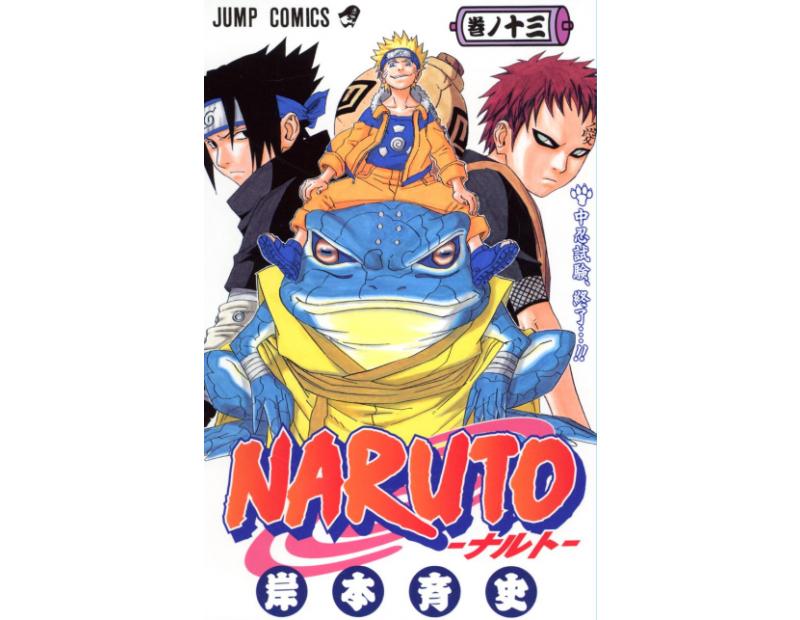 Manga Naruto Τόμος 13 (English)
