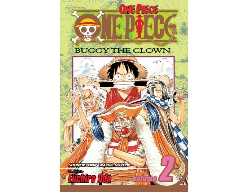 Manga One Piece Τόμος 2 (English)