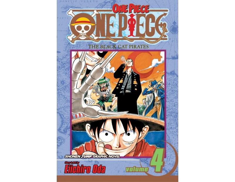 Manga One Piece Τόμος 4 (English)