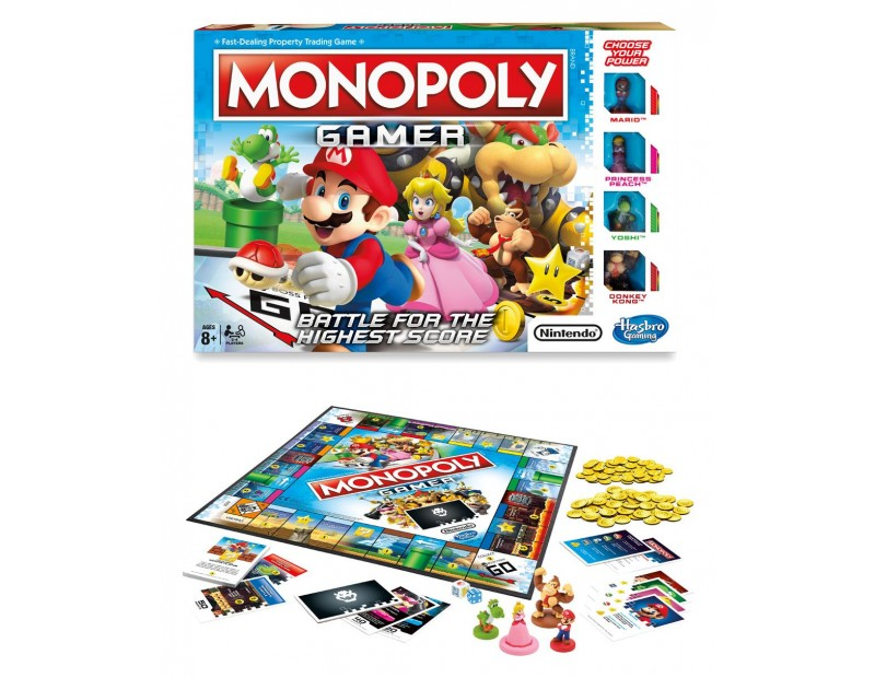 Επιτραπέζιο Monopoly Mario Gamer Edition
