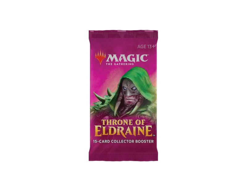 Collector Booster Pack Throne of Eldraine
