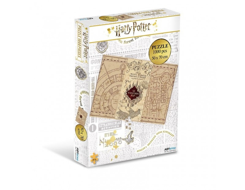 Puzzle Marauder's Map (1000 pieces)