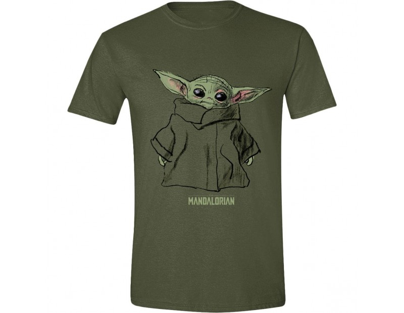 T-shirt Baby Yoda Mandalorian