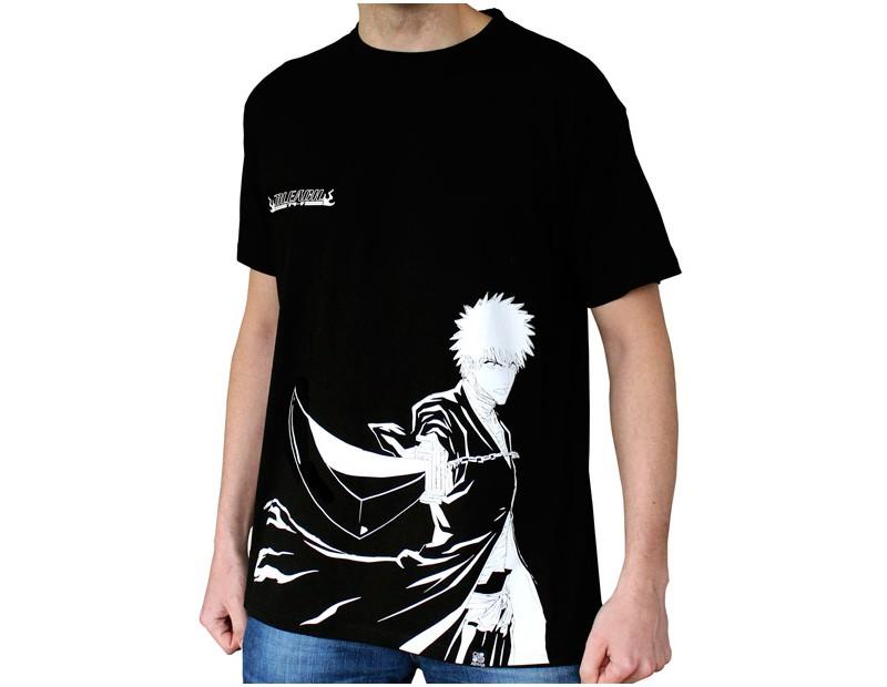 T-shirt Ichigo Bankai (μαύρο)