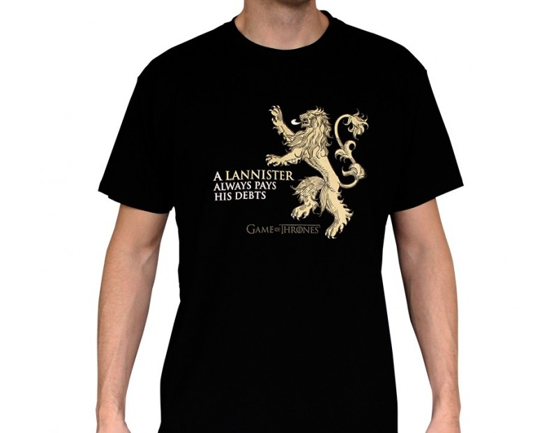 T-shirt Lannister / A Lannister always pays his debts