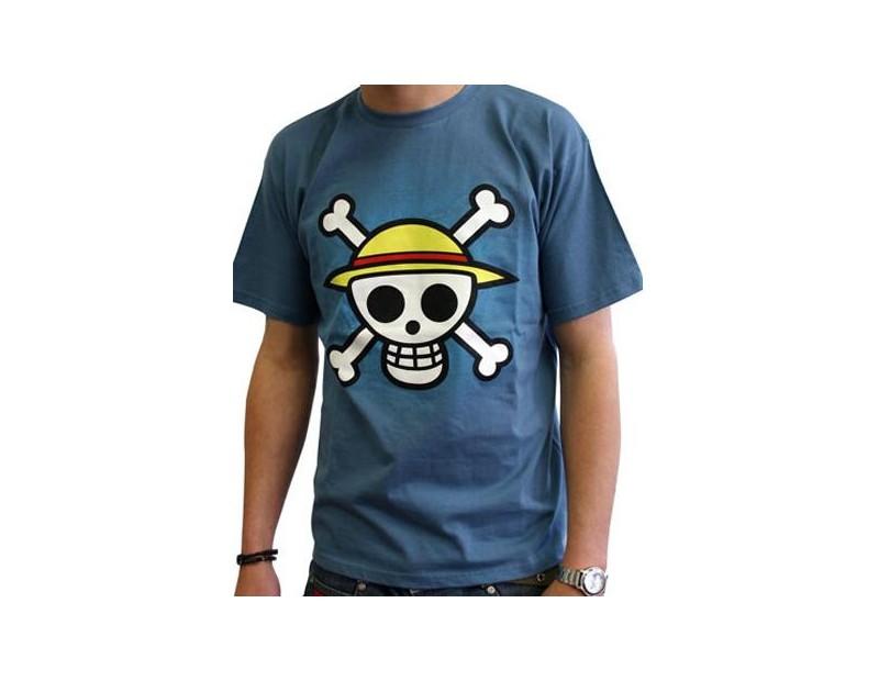 T-shirt Straw Hat Pirates (ΜΠΛΕ)