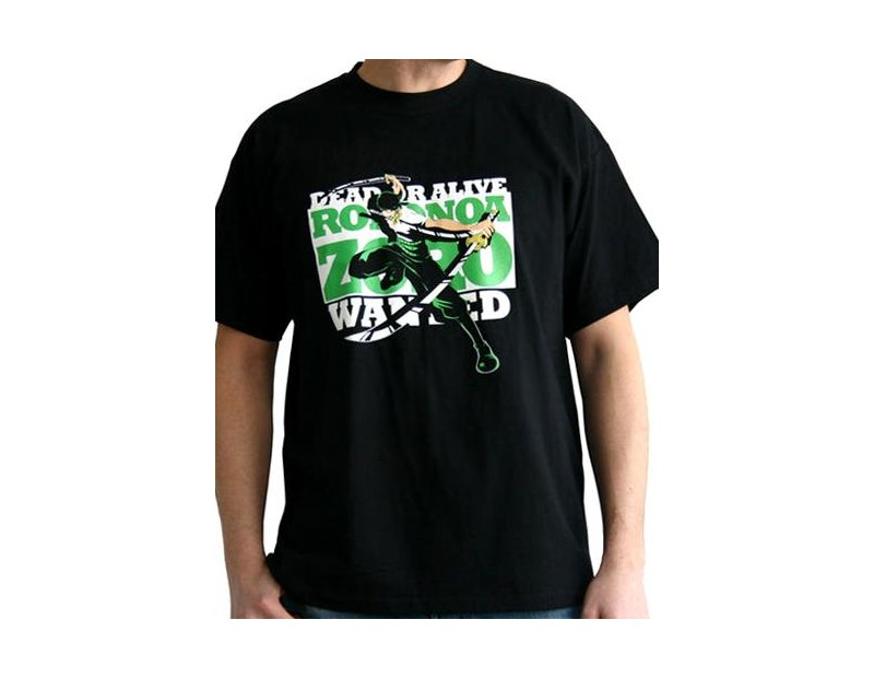 T-shirt Wanted Zoro