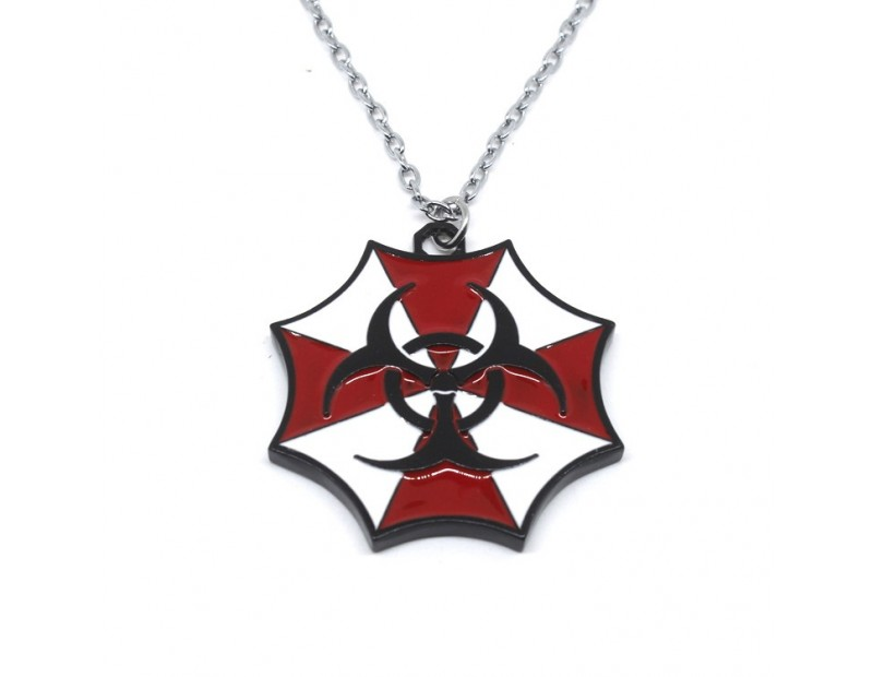 Κρεμαστό Umbrella Corp + Biohazard Symbol