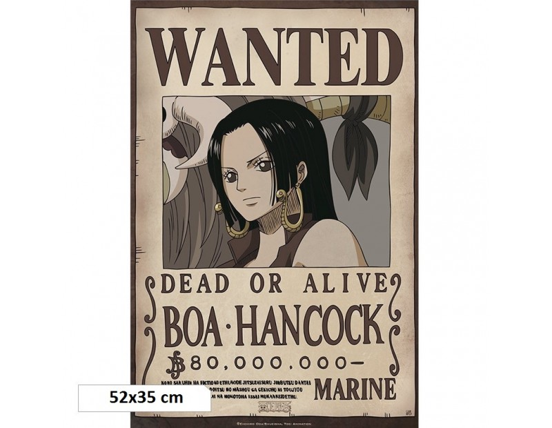 One Piece - Αφίσα Wanted Boa Hancock (52x35)