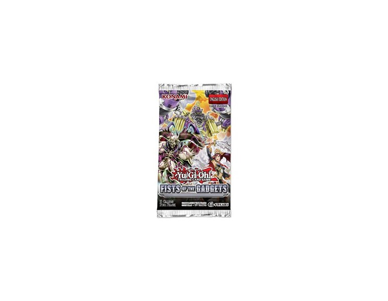 Yugioh Booster Pack: Fists of the Gadgets