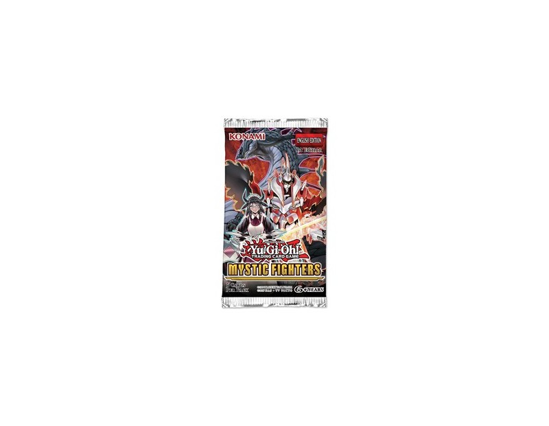 Yugioh Booster Pack:  Mystic Fighters