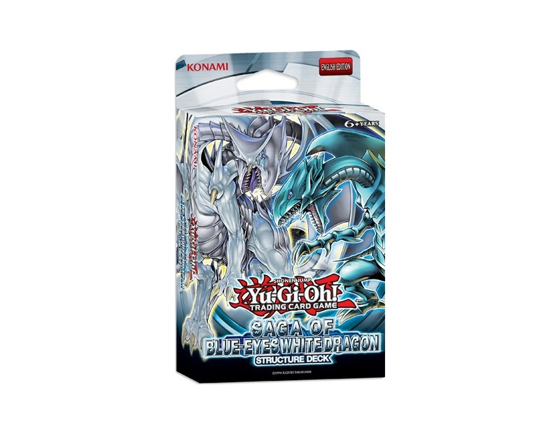 Yugioh Structure Deck Saga of Blue Eyes White Dragon