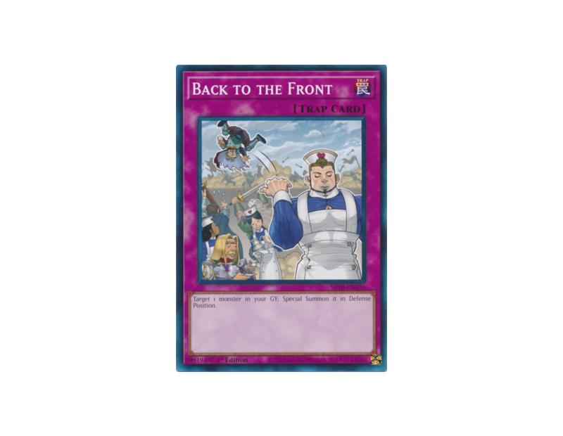 Back to the Front (SR10-EN036) - 1st Edition