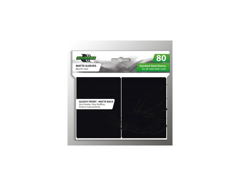 Blackfire Standard Sleeves - Black (80 Sleeves)