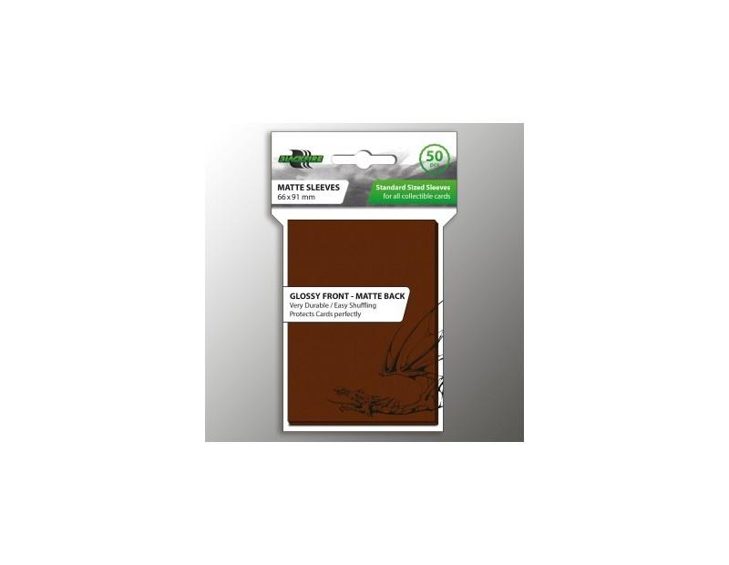 Blackfire Standard Sleeves - Brown (50 Sleeves)