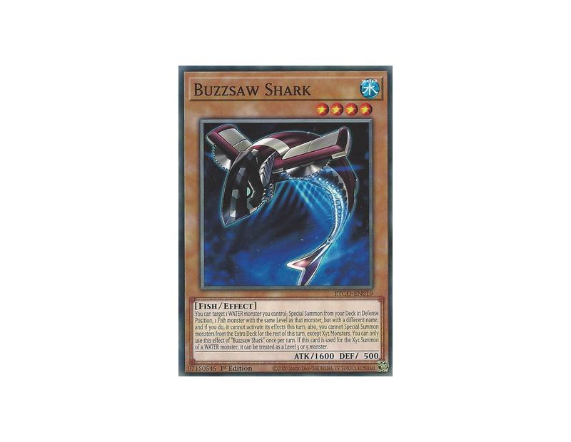 Buzzsaw Shark (ETCO-EN019) - 1st Edition