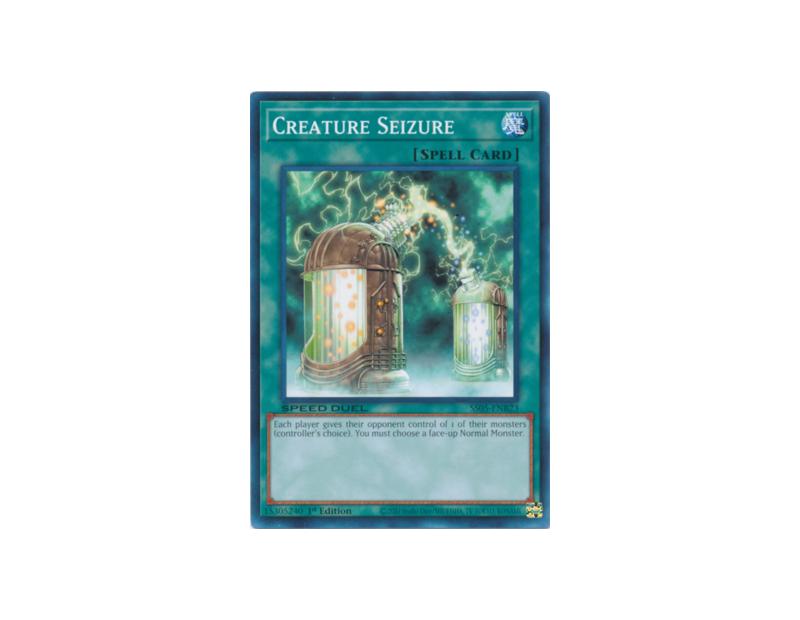 Creature Seizure (SS05-ENB23) - 1st Edition