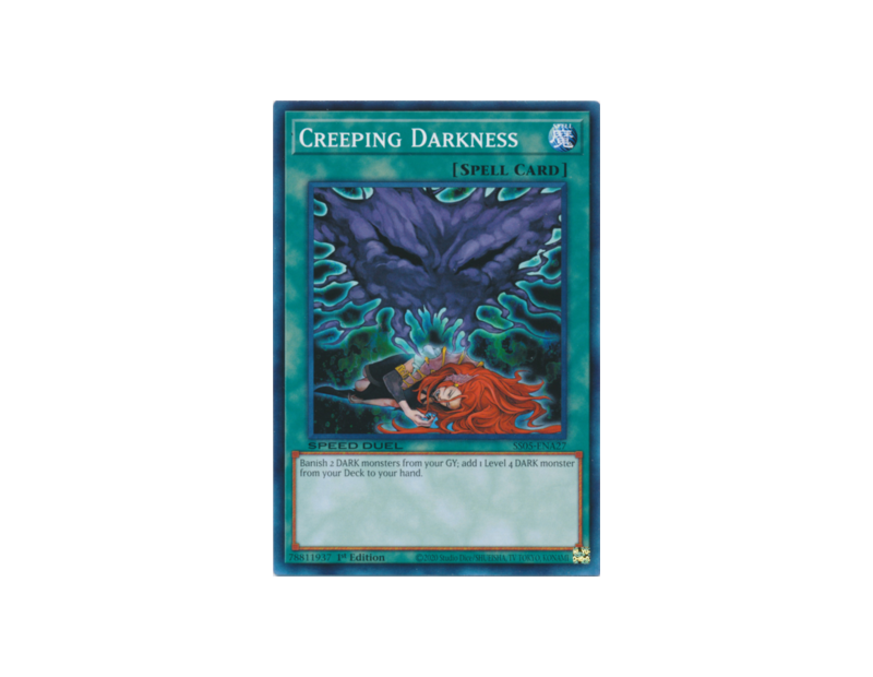 Creeping Darkness (SS05-ENA27) - 1st Edition