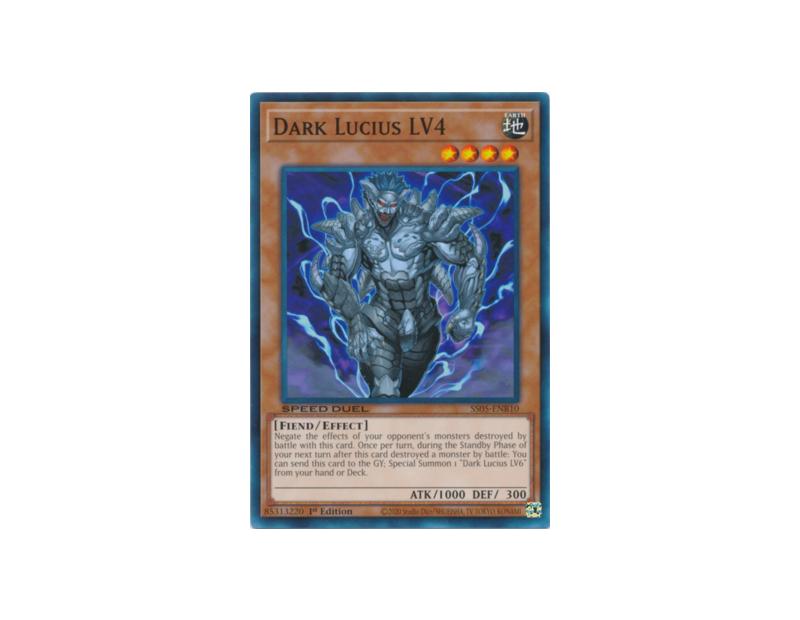 Dark Lucius LV4 (SS05-ENB10) - 1st Edition