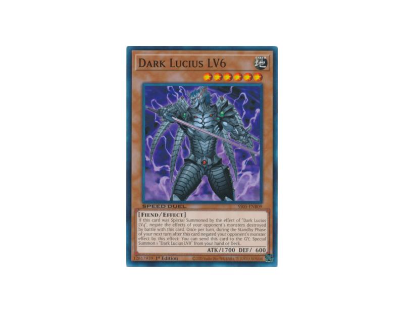 Dark Lucius LV6 (SS05-ENB09) - 1st Edition